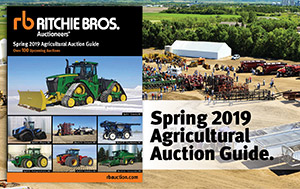 Spring 2019 Agricultural Auction Guide